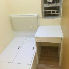 客人在客廳的訂造傢俬有: 客廳/ 客廳貯物櫃/ 飾物櫃/ 視聽組合 / 電視櫃