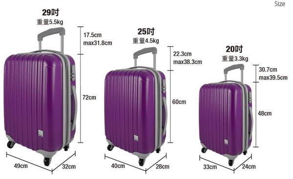 行李箱的高度和地台床的關系