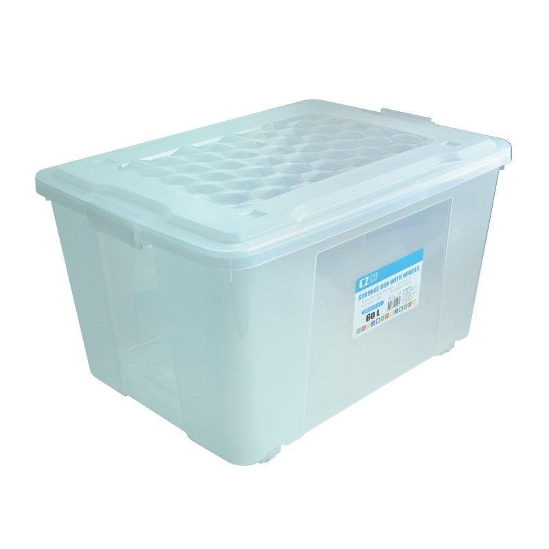 一個膠箱可以剛剛好放入地台床當中