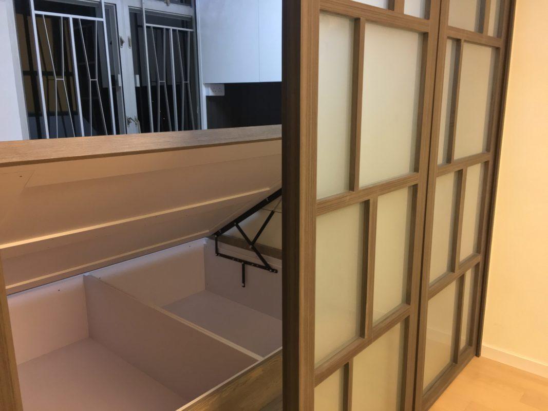 油壓床板4邊凹形設計