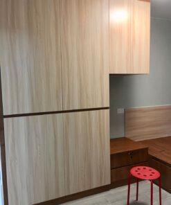 客人在睡房的訂造傢俬有: 睡房/ 睡房貯物櫃/ 梳妝枱/ 床側櫃/ 衣櫃/ 吊櫃