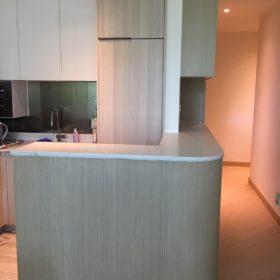 開放式廚房搭配雲石bar 台
