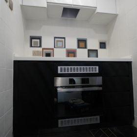 黑白配廚櫃