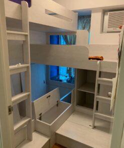 客人在睡房的訂造傢俬有: 睡房/ 床/ 組合床/上下床/碌架床/L形床/雙層床/ 上床下衣櫃/ 3人床/ 3尺上下床/ 3尺L形上下床組合