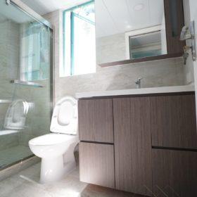 北歐雪白浴室櫃