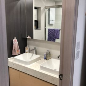 一個浴室入面有兩個洗手盤你見過未?