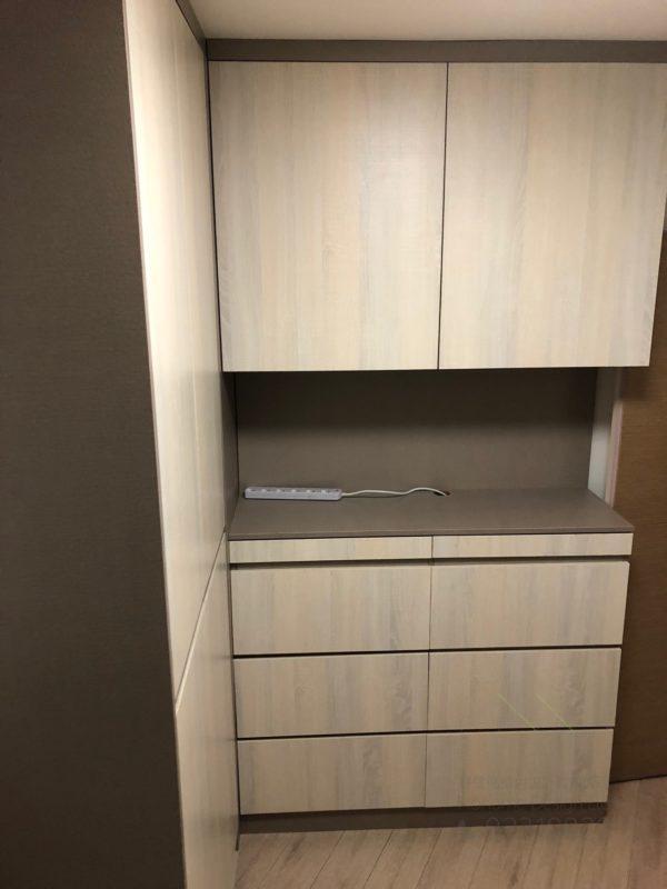 客人在睡房的訂造傢俬有: 睡房/ 睡房貯物櫃/ 衣櫃/ 書櫃 / 飾物櫃