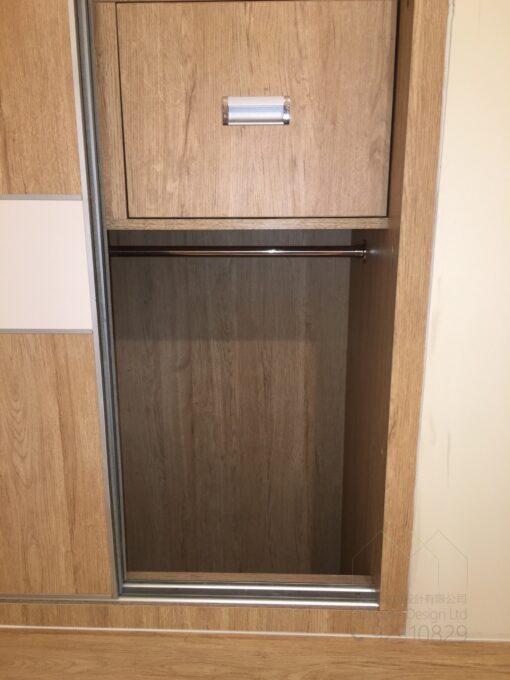 客人在睡房的訂造傢俬有: 睡房/ 睡房貯物櫃/ 衣櫃