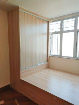 客人在睡房的訂造傢俬有: 睡房/ 地台床/ 榻榻米/ 油壓床/ 睡房貯物櫃/ 衣櫃