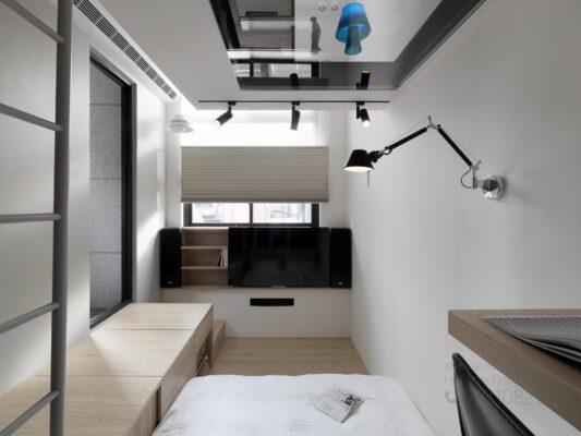 客人在睡房的訂造傢俬有: 閣樓/ 客廳/ 客廳貯物櫃/ 客廳榻榻米/ 客廳儲物地台/ 床/ 地台床/ 榻榻米