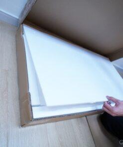 枱面板有發泡棉保護