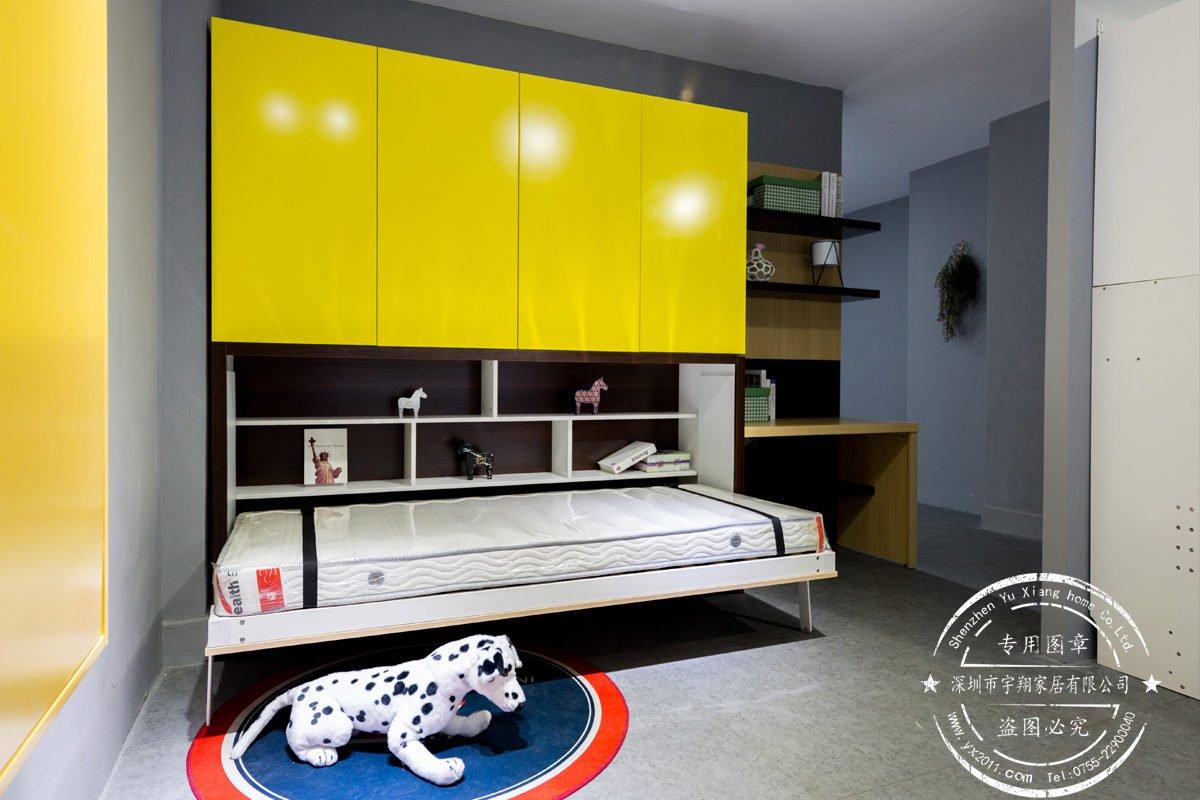 變形書櫃床-03