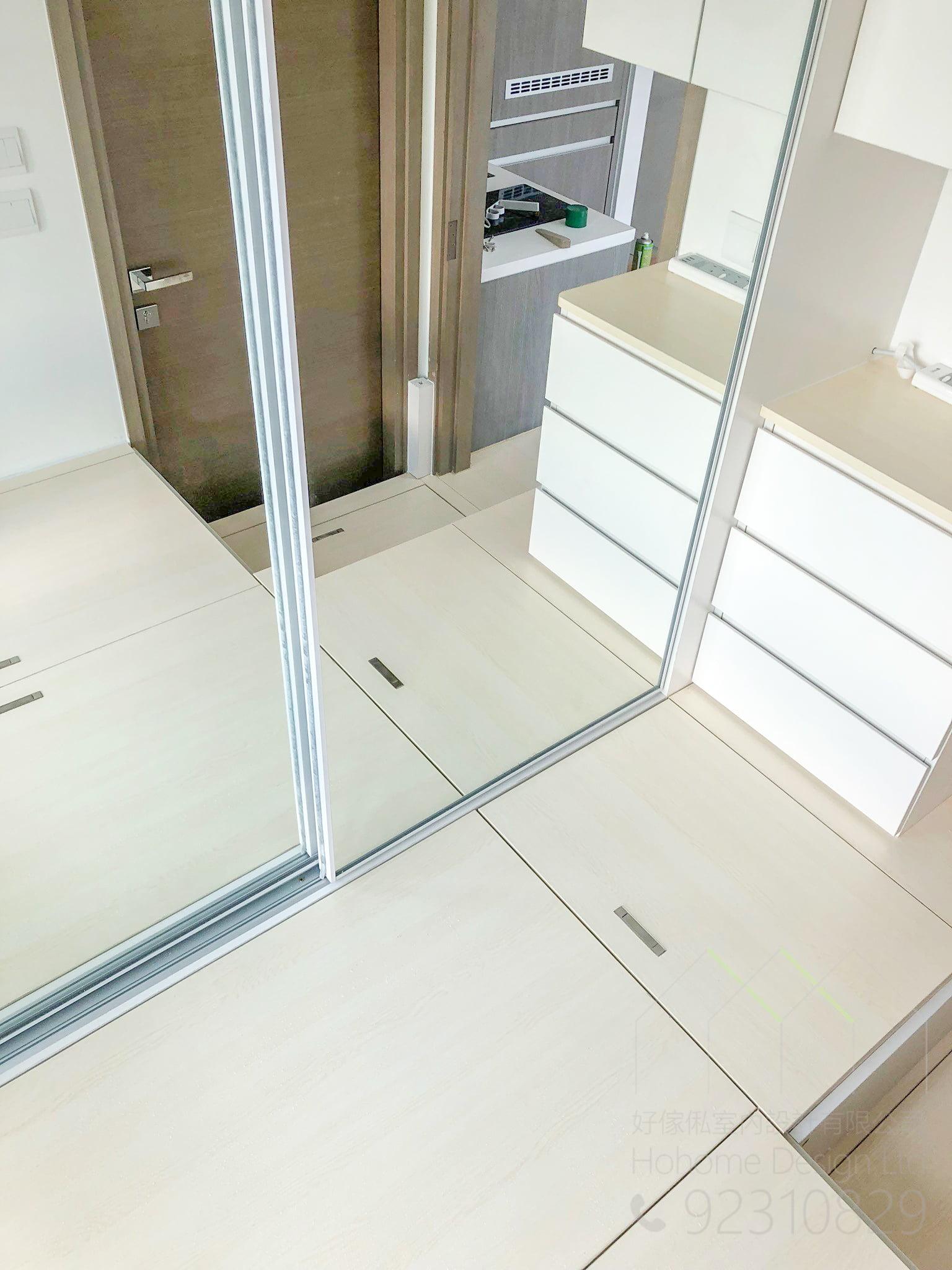 衣櫃+地台