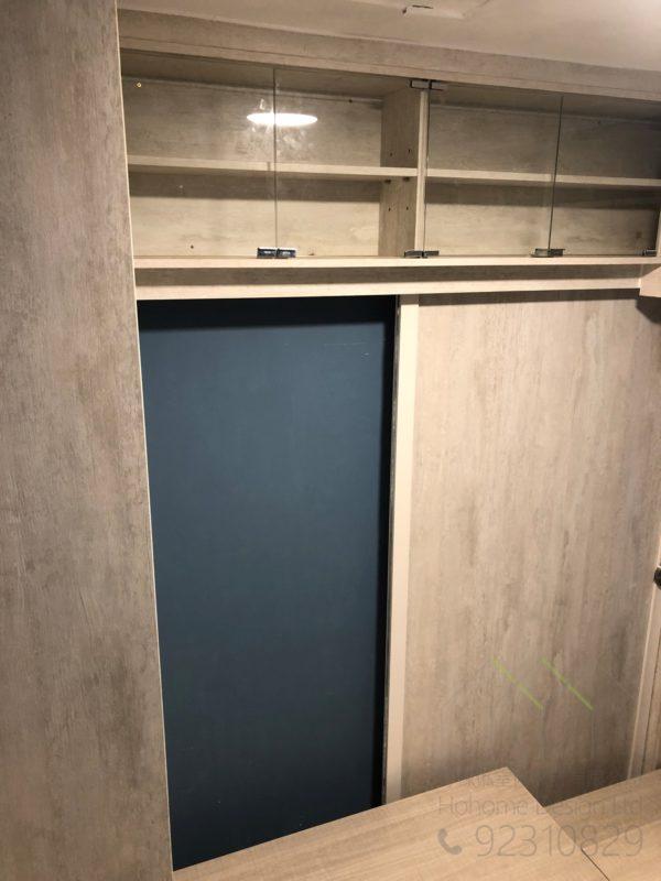 飾櫃+房門