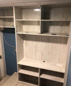 電視櫃+飾櫃