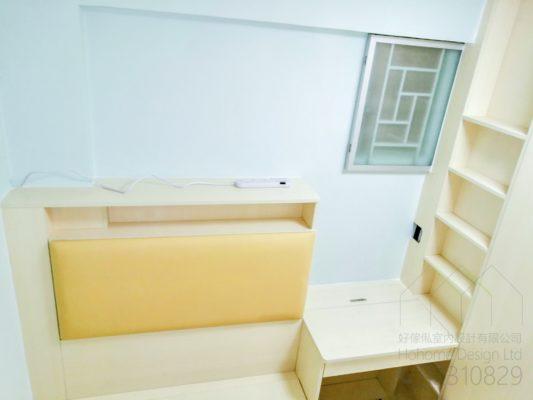床頭板及書枱