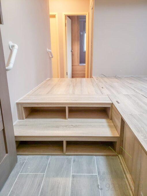 訂造安全傢俬必備的上落扶手,適合應用在訂造榻榻米及組合床 / 上下床 / 碌架床或其他由我們設計師建議的訂造傢俬之上