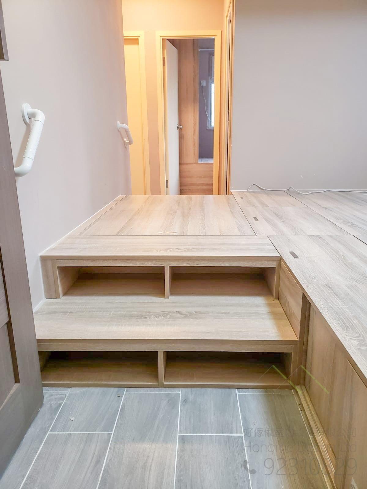 訂造安全傢俬必備的上落扶手,適合應用在訂造組合床 / 上下床 / 碌架床及榻榻米或其他由我們設計師建議的訂造傢俬之上