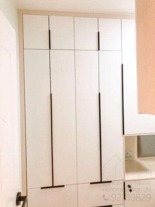 白色焗漆衣櫃