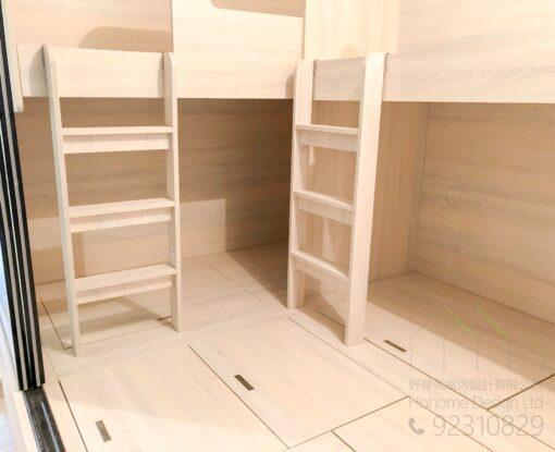 組合床及地台床