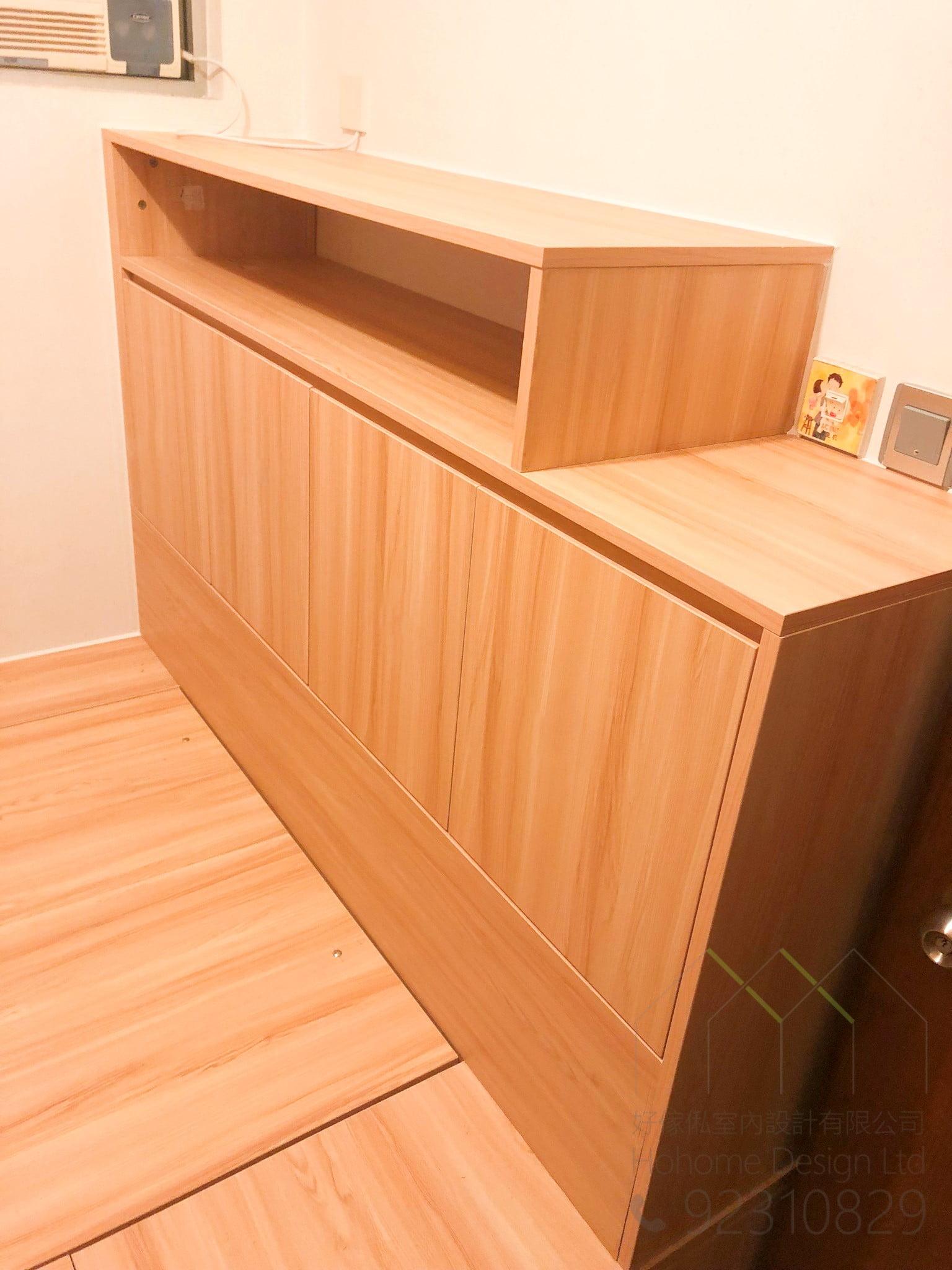 組合床床尾櫃