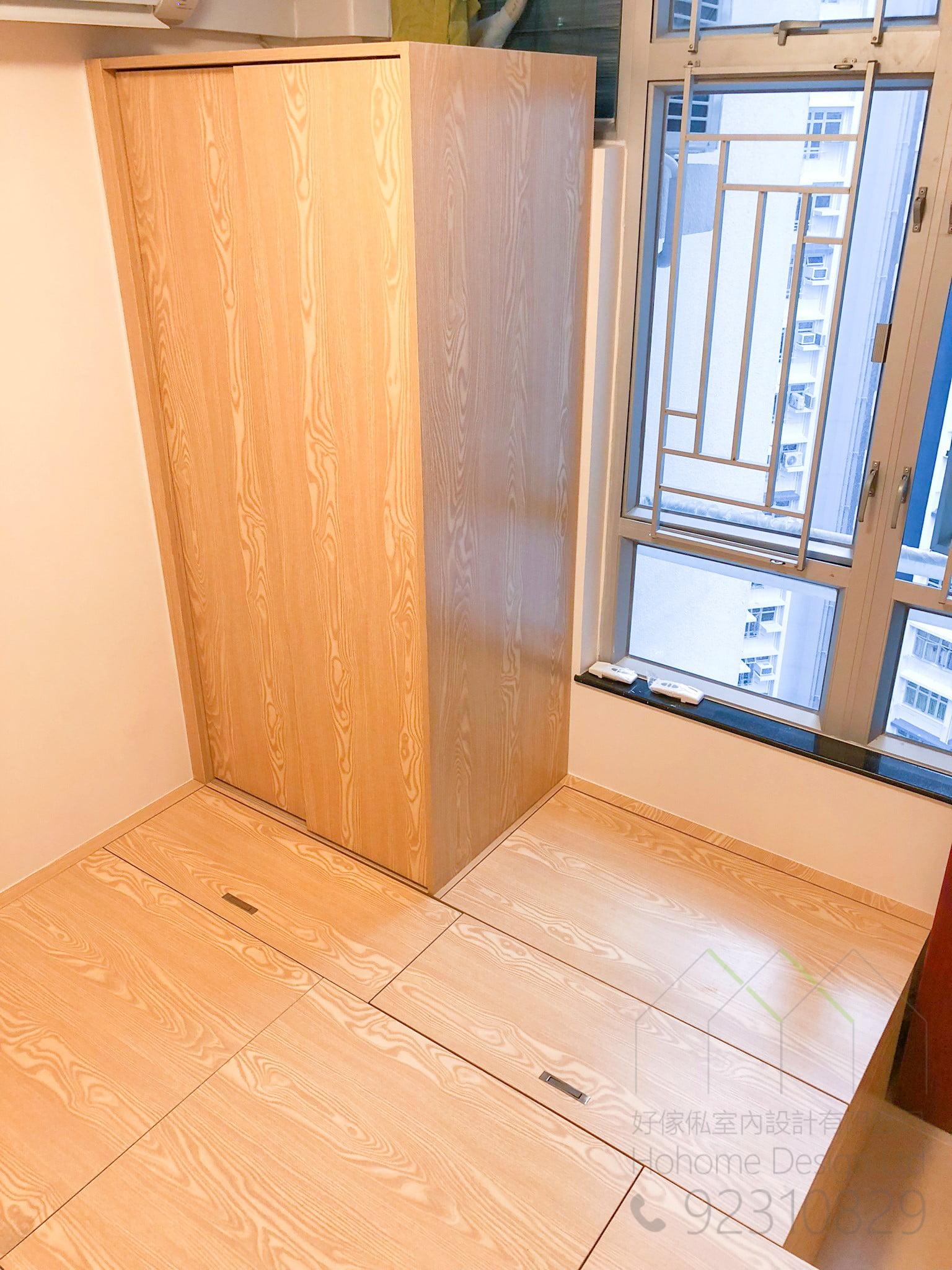 地台床+衣櫃