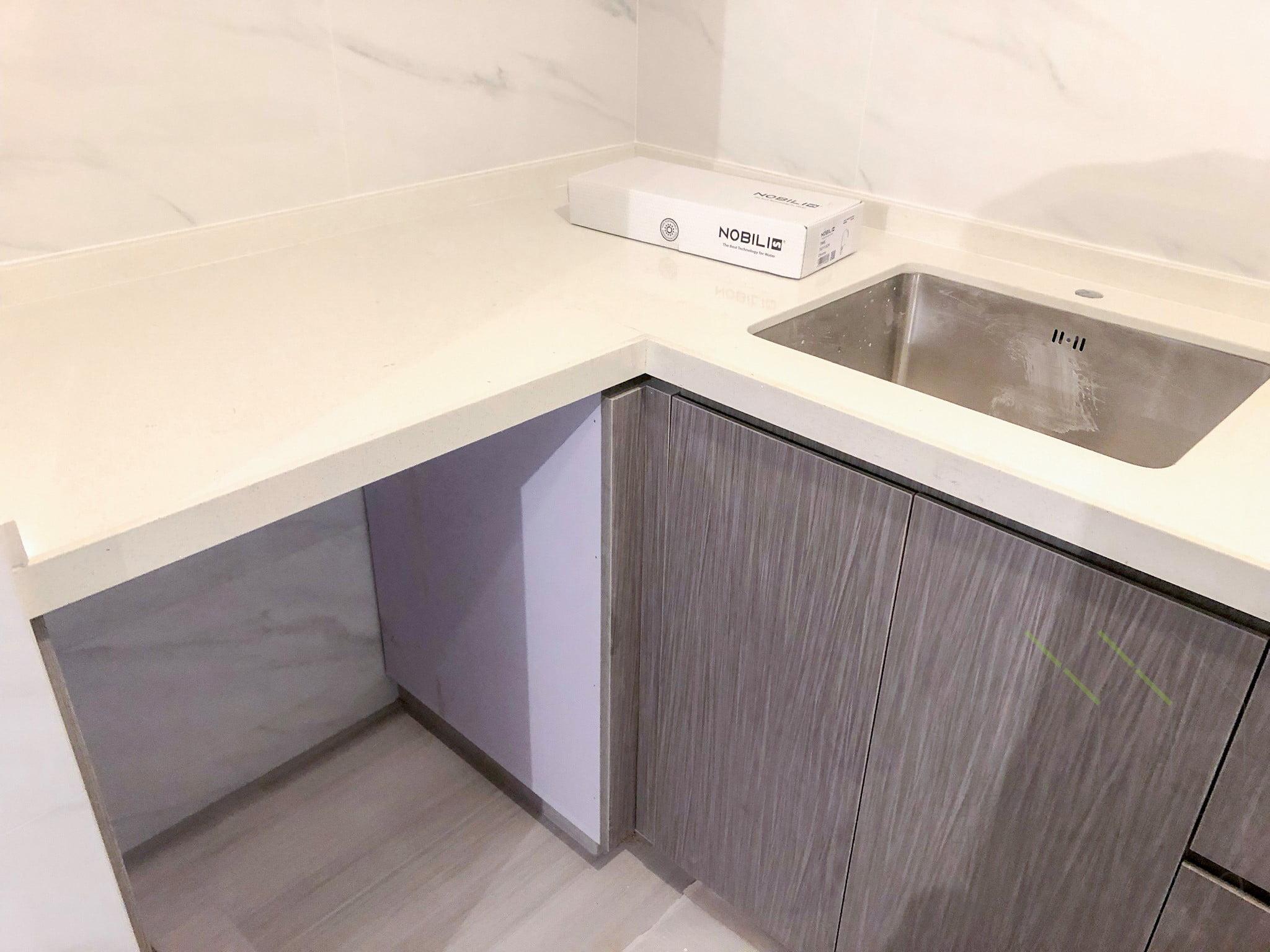 無縫石枱面廚櫃