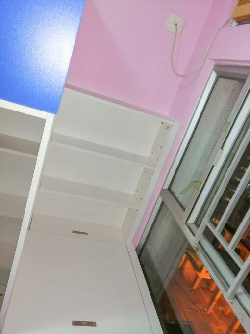 組合床窗邊櫃