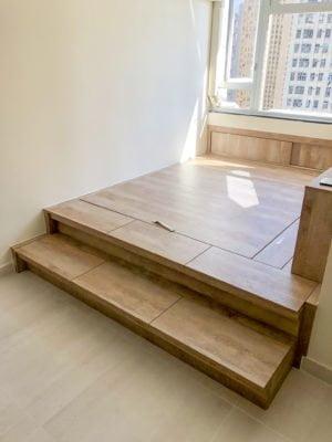 地台床/ 油壓床/ 客廳榻榻米