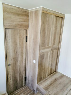 衣櫃連隱形門