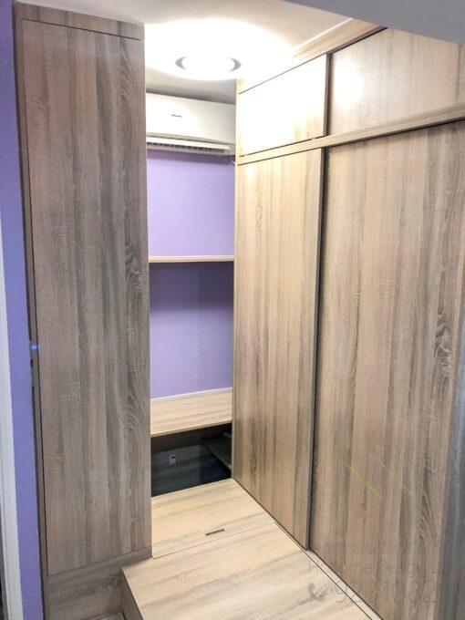 睡舴地台及衣櫃