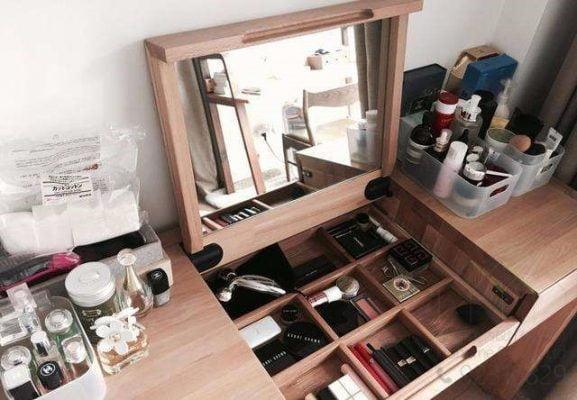 梳妝台揭鏡油壓緩衝鉸,適合應用在訂造梳妝台或其他由我們設計師建議的訂造傢俬之上