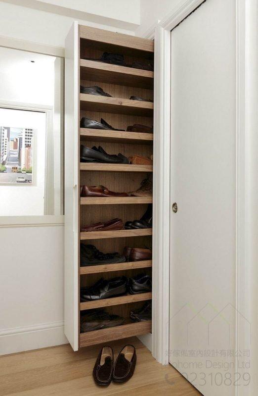 [智能家居] 電動高身拉籃體驗智能新生活,適合應用在訂造智能家居 / 智能家具、鞋櫃、廚櫃及衣櫃或其他由我們設計師建議的訂造傢俬之上