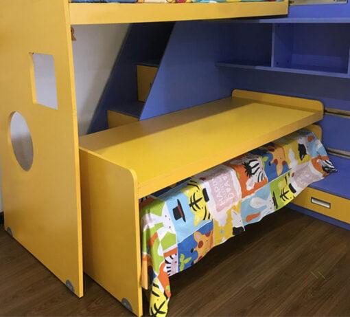 子母床必備的嵌入式移動滑輪五金,適合應用在訂造子母床、組合床 / 上下床 / 碌架床、儲物櫃及書櫃或其他由我們設計師建議的訂造傢俬之上