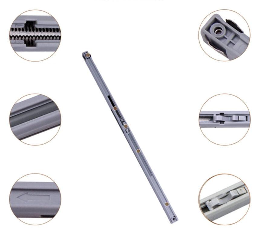 打造雙層移動式衣櫃衣帽間軌道配件,適合應用在訂造書櫃、鞋櫃、趟門、衣櫃及儲物櫃或其他由我們設計師建議的訂造傢俬之上