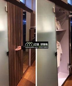 優質巴士式移門衣櫃飾櫃門鉸配件,適合應用在訂造鞋櫃、趟門、衣櫃、儲物櫃、書櫃、電視櫃及吊趟門或其他由我們設計師建議的訂造傢俬之上