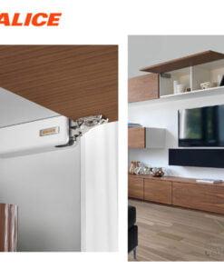 意大利進口静音上翻式門鉸,適合應用在訂造鞋櫃、廚櫃、衣櫃、儲物櫃、書櫃、電視櫃及門鉸或其他由我們設計師建議的訂造傢俬之上