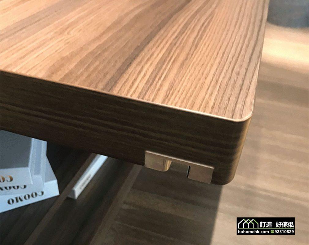 創意90度旋轉推拉書桌導軌 廚櫃書櫃也能使用,適合應用在訂造梳妝台及伸縮枱或其他由我們設計師建議的訂造傢俬之上