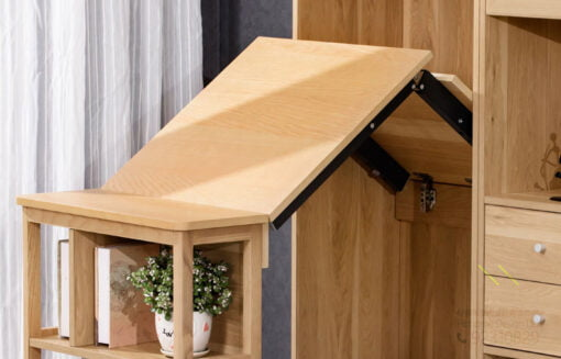 餐邊櫃書櫃適用 上翻折叠隐藏伸縮桌軌道,適合應用在訂造儲物櫃、書櫃、衣櫃及伸縮枱或其他由我們設計師建議的訂造傢俬之上