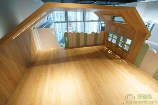 屋仔組合床看點: 閣樓上層、屋仔床屋企、窗口、天窗、雪糕棍