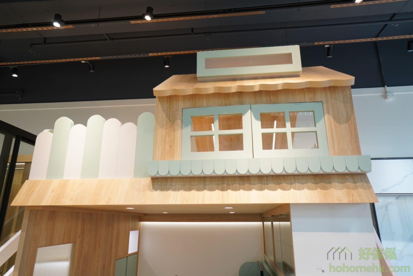 屋仔床看點: 天窗、雨棚、歐式窗口、花槽