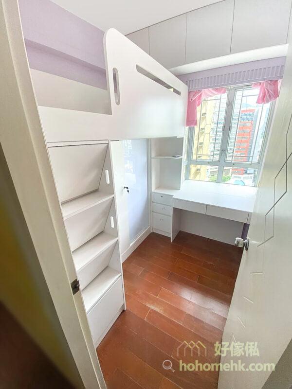 良好的兒童房設計,可以培養出聰明又乖巧的小孩