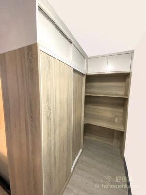 【間房篇】客廳間出萬用房,配合玄關櫃位置可以變出小型衣帽間