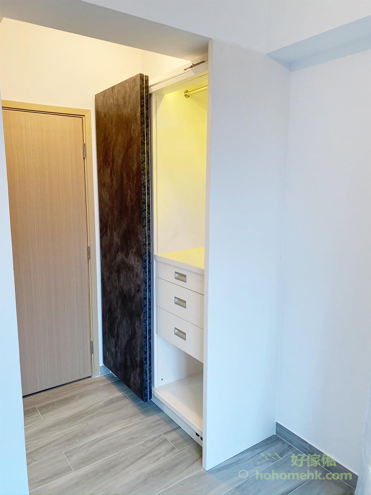 隱藏式玄關櫃, 鞋櫃, 衣櫃