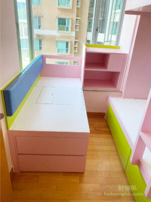 色彩豐富的兒童房設計,激發小孩的創造力