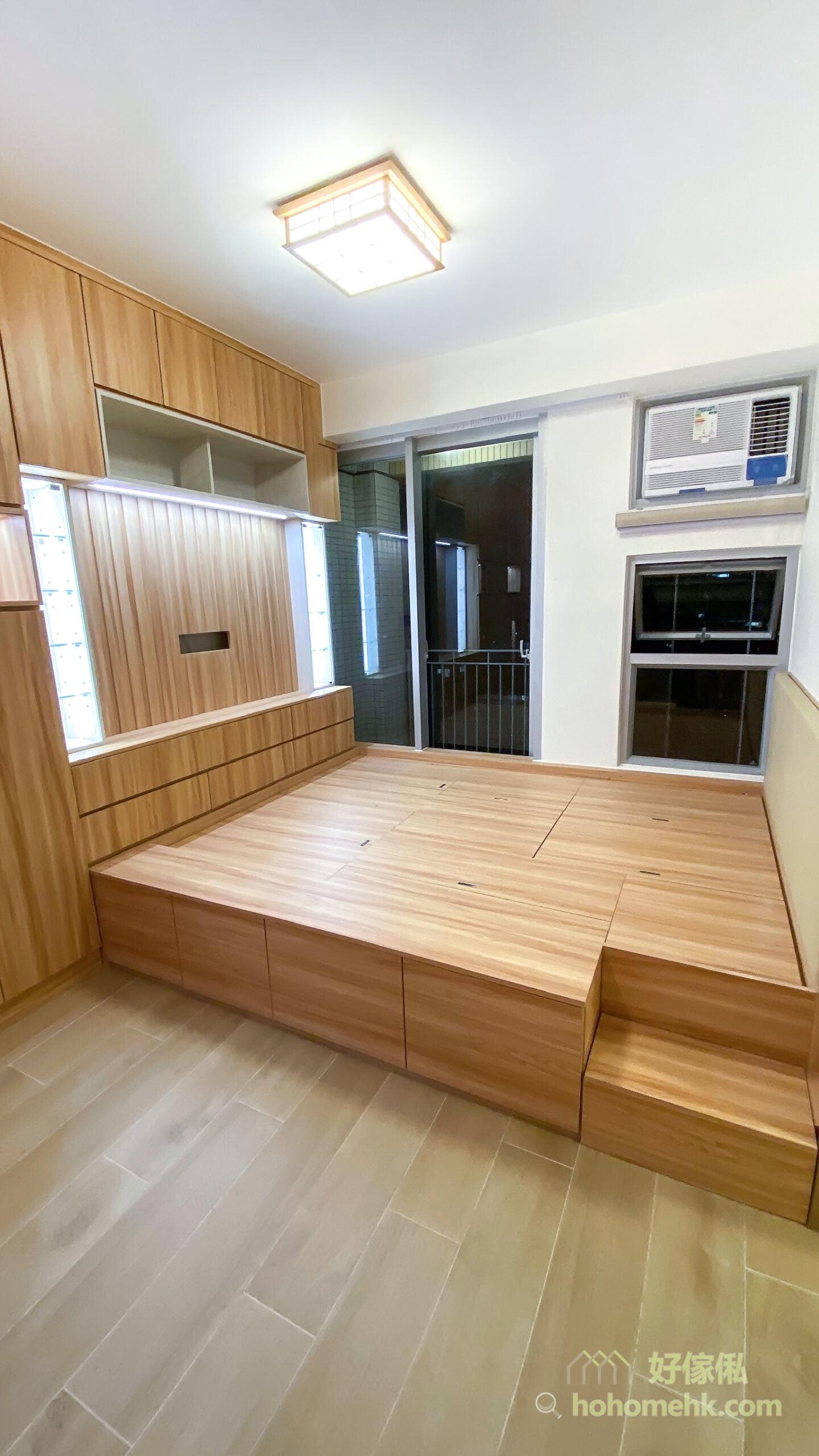 客廳儲物櫃/電視櫃/鞋櫃/飾櫃連地台, 將生活與會客功能整合