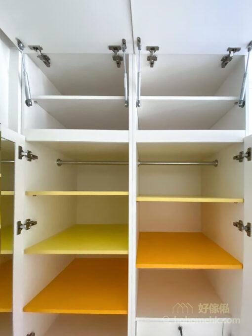 利用彩色層板,為你的家注入pantone色彩,令整個空間增加一抹活潑感
