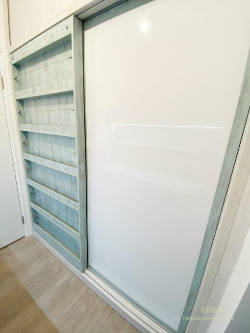 趟門式層架,讓趟門都可以儲物