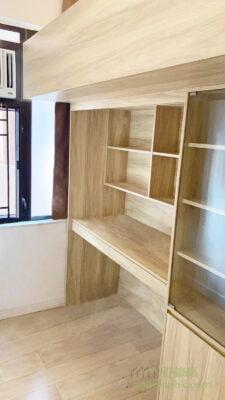碌架床, 雙層床, 上下格床, 上床下書櫃連書枱
