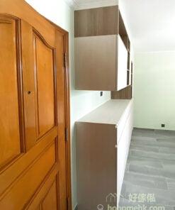 客廳C字櫃, 組合層, 儲物櫃